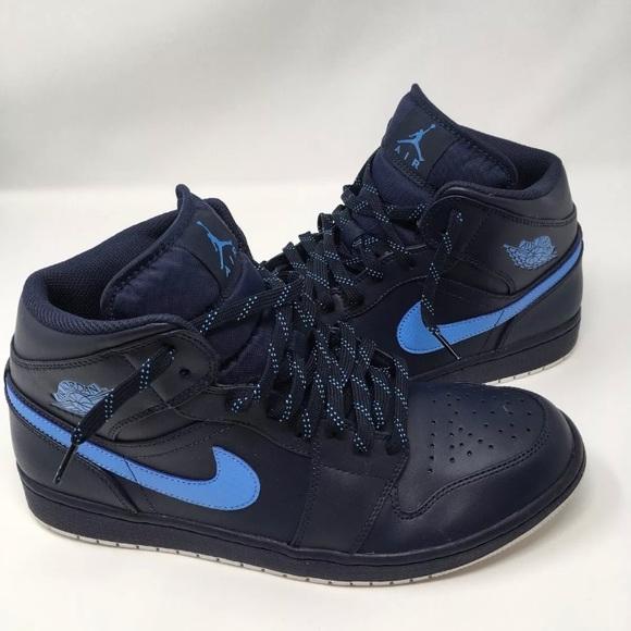 e4ff4080866357 Jordan Other - Nike Air Jordan 1 Mid Obsidian Blue Size 12